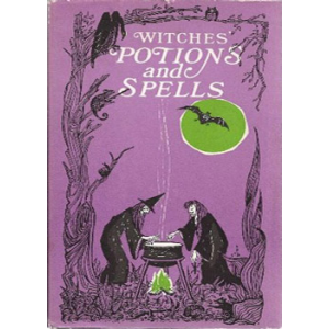 Witches Potions And Spells Cover