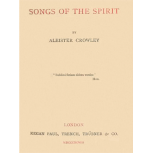 Songs Of The Spirit Cover