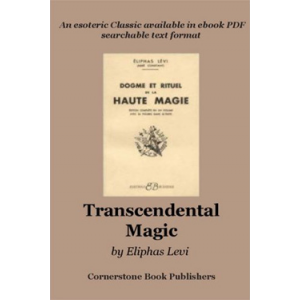 The Doctrine Of Transcendental Magic Cover