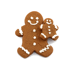 Gingerbread Spell For Overeating Cover