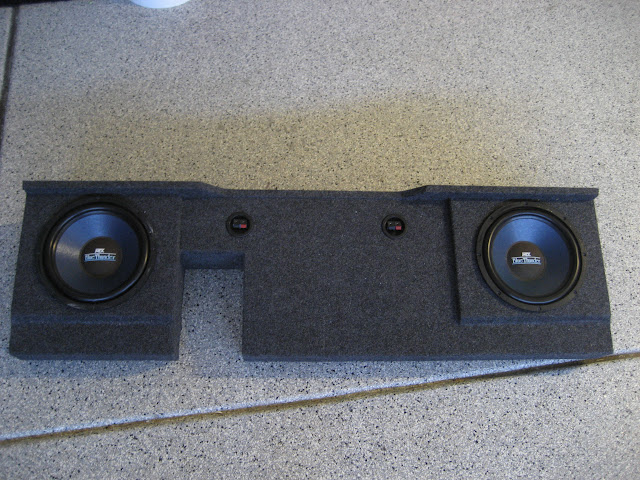 2006 F150 For Sale >> Stealth supercrew subwoofer box with two mtx blue thunder ...