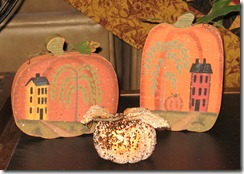 pumpkins close
