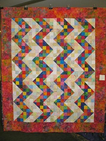Split 9 patch zig zag