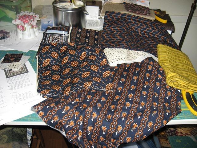 Medallion fabrics