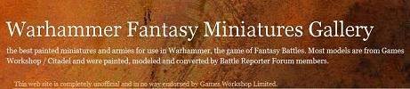 Warhammer Fantasy Miniatures Gallery