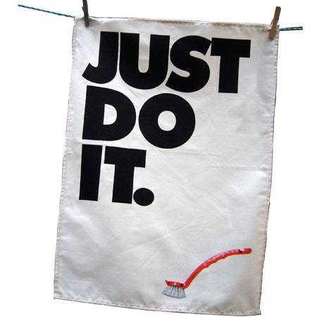 just do it bags presentation