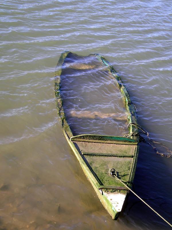 O afogado, barcos no Sado