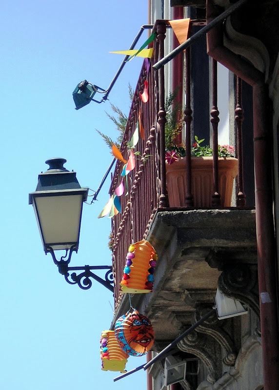 Balões na Baixa do Porto