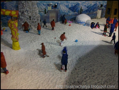 Real artificial snow