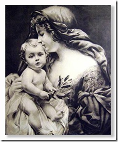 madonna_and_child_black_white