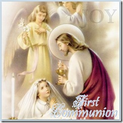 First Communion Link - Girl