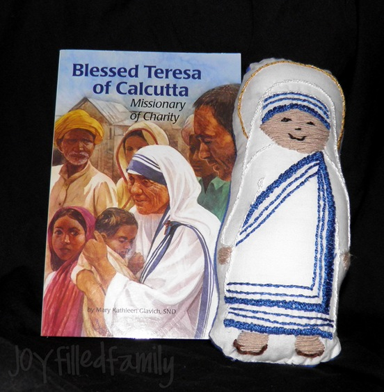 stuffed mother teresa joy