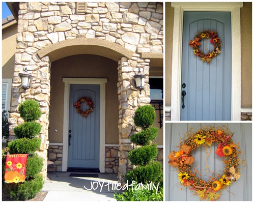 oct wreath JOY