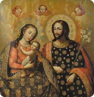 St. Joseph spouse of the Virgin Mary