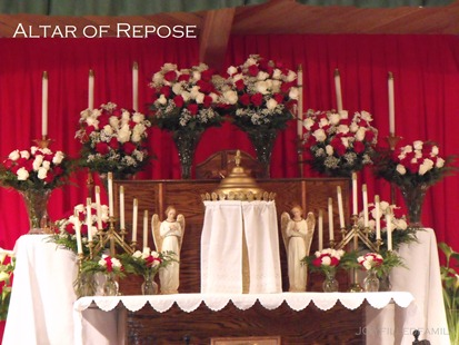 altar of repose close up