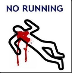 no-running