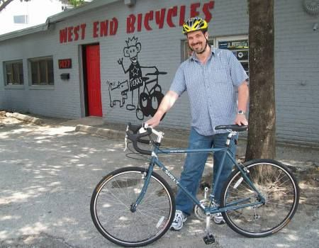 Alan Mizell and the Surly Long Haul Trucker