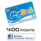 MyCard 400 Points (Reload Facebook games)