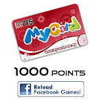 MyCard 1000 Points (Reload Facebook games)