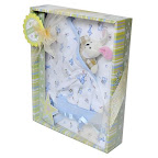 Blanket Baby Gift Set - GS10-1018-Blue