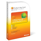 Microsoft Office Home & Student 2010 Product Key Card w/o CD (1 user)