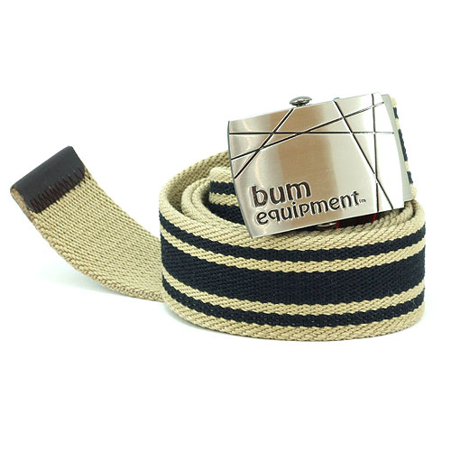 B.U.M. Equipment Canvas Belt - BEB019(Khaki)