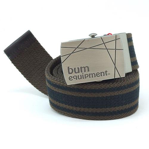 B.U.M. Equipment Canvas Belt - BEB019(Brown)