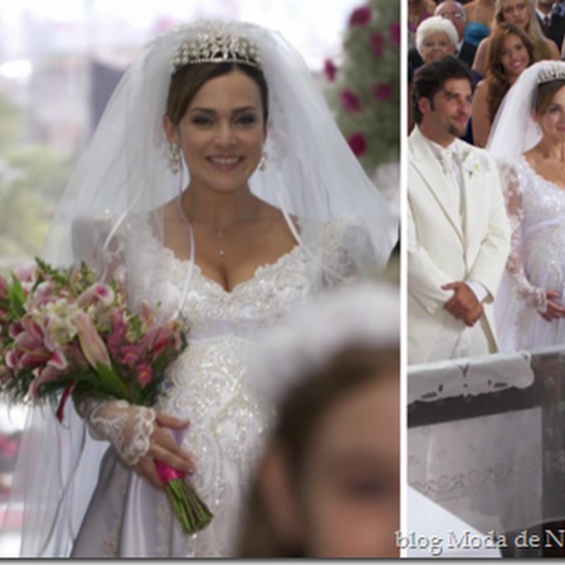 Vestido de noiva da Jéssica (Gabriela Duarte) na novela Passione