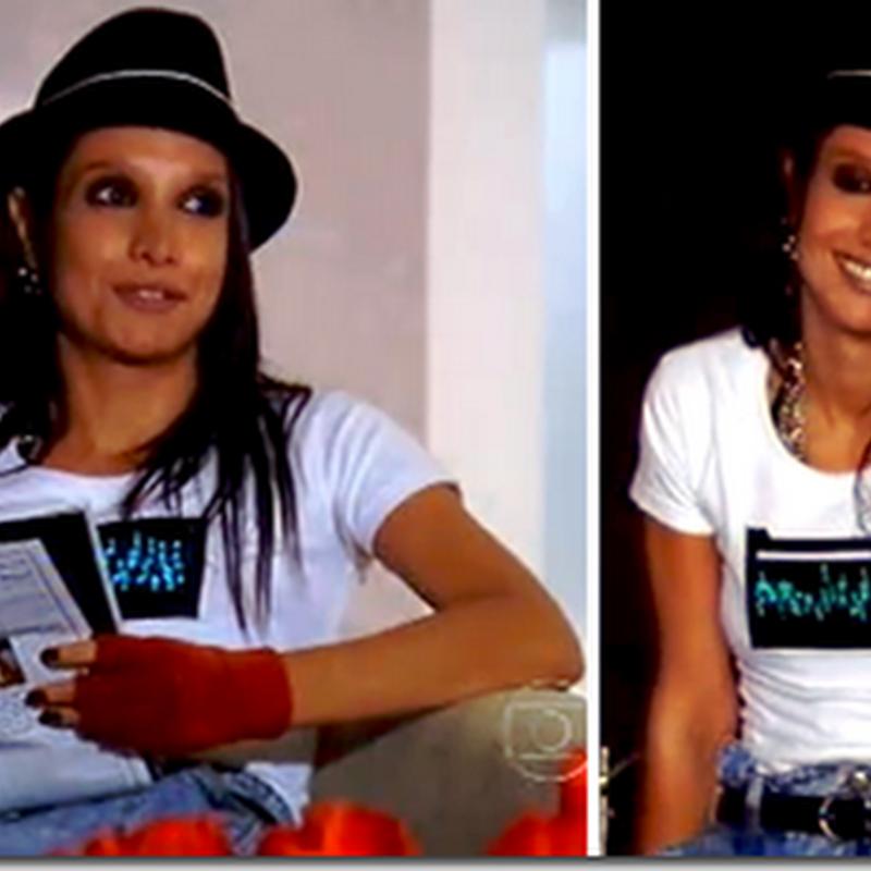 A camiseta com leds da Inês (Maria Maya)