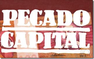 logotipo novela pecado capital - 1ª versão