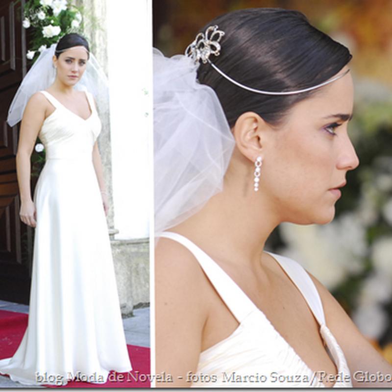 Vestido de noiva da Nelinha da novela Tempos Modernos