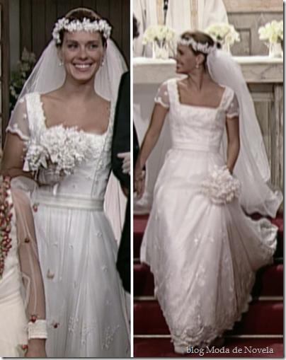mulheres apaixonadas vestido de noiva edwiges