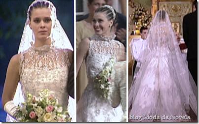 laços de família vestido de noiva camila
