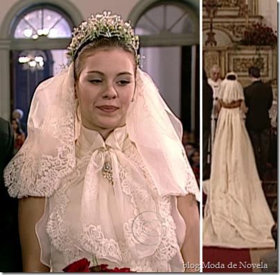 por amor vestido de noiva catarina