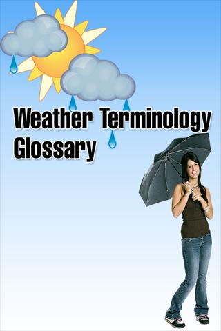 Weather Glossary
