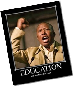 malema-education