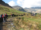 Trek from Great Langdale to Pike O'Blisco