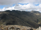 Crinkle Crags and Bow Fell from Pike O'Blisco