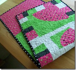 table runner watermelon