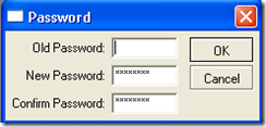 m. change the password