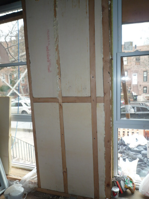 Insulating a Brooklyn green brownstone