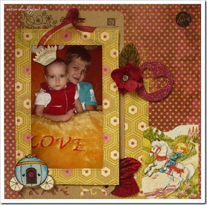 страничка о моей малышке и ее принце №1