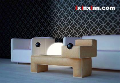 模块化玩具宠物狗脚凳-爱新鲜