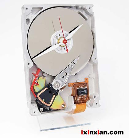 硬盘时钟-爱新鲜