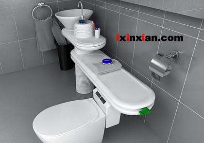 环保卫浴(Eco bath),重复利用水资源-爱新鲜