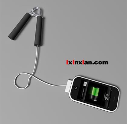 iPhone握力充电器(Hand Grip Charger)-爱新鲜