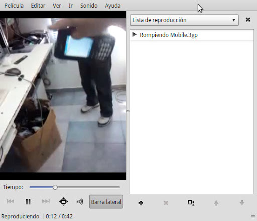 Girar videos con Avidemux