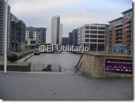 Zona del Clearence Dock (zona nueva y  moderna)