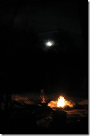 eclipse moon and solstice eve fire
