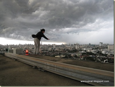 its ok, I didnt jump!